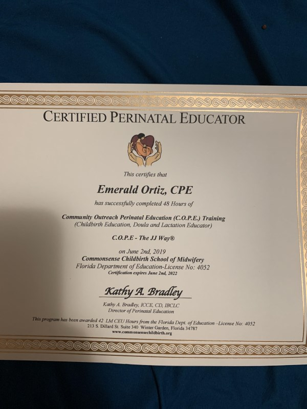 Certification