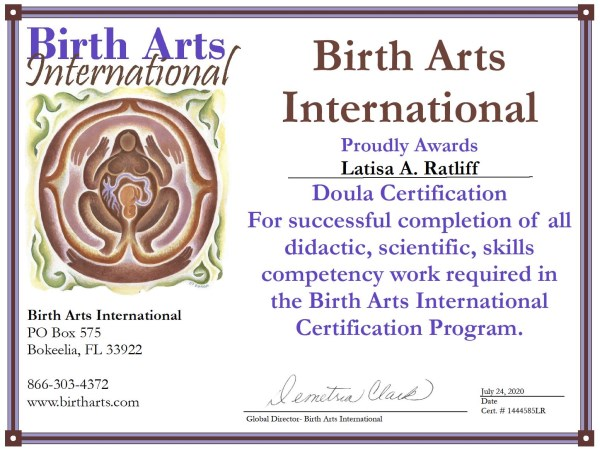 doula williams victoria encapsulation latisa placenta certifications evaluating important learn doulamatch birth